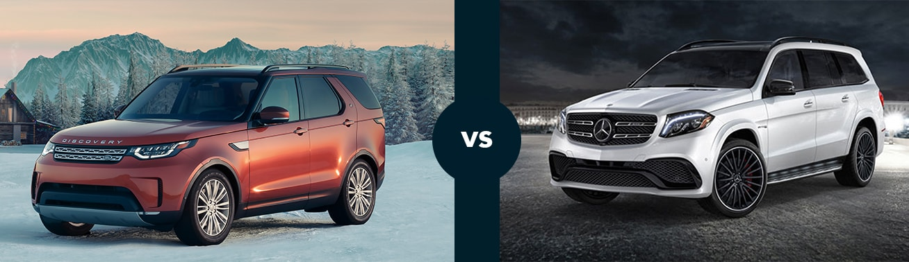 2018 discovery vs 2018 mercedes gls 450