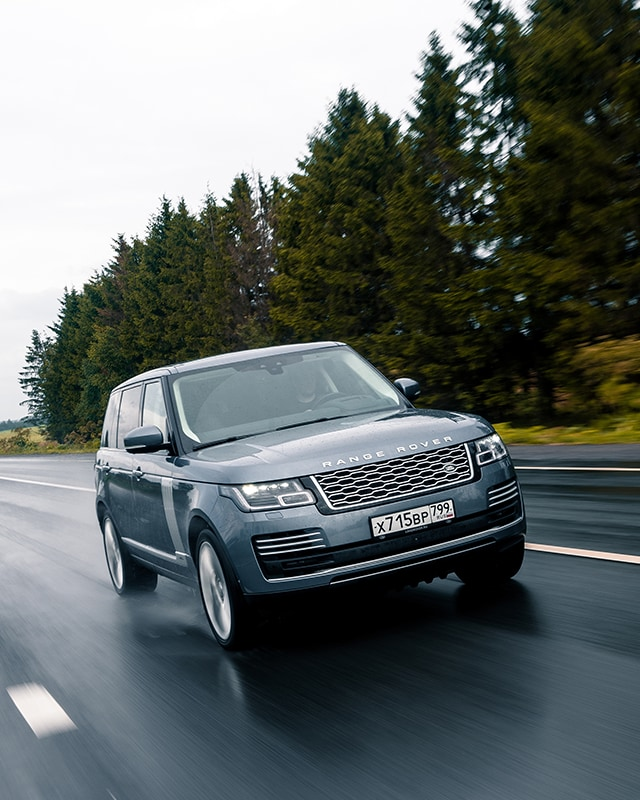 2019 Land Rover Range Rover Suspension: The 2019 Range Rover