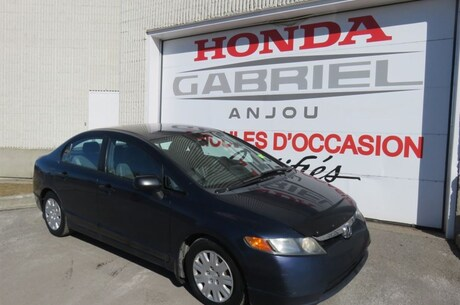 2006 Honda Civic DX Sedan Sedan