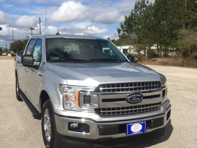 2019 Ford F-150 XLT 2WD Supercrew 5.5 Box Crew Cab Pickup