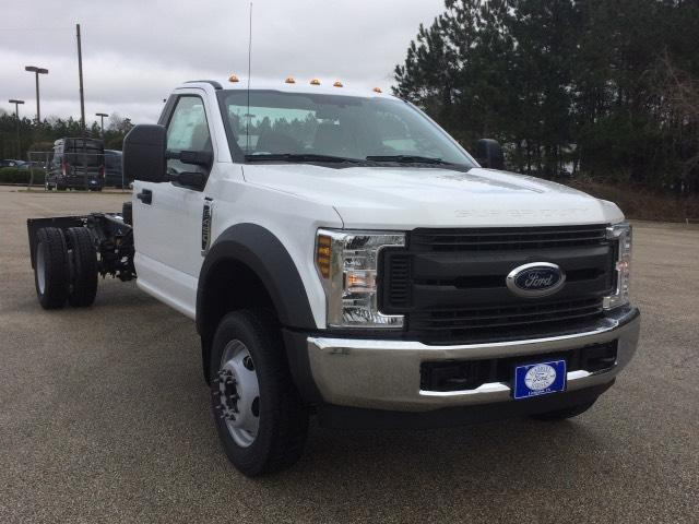 2018 Ford Super Duty F-450 DRW XL 2WD Reg Cab 193 WB 108 CA Regular Cab Chassis-Cab