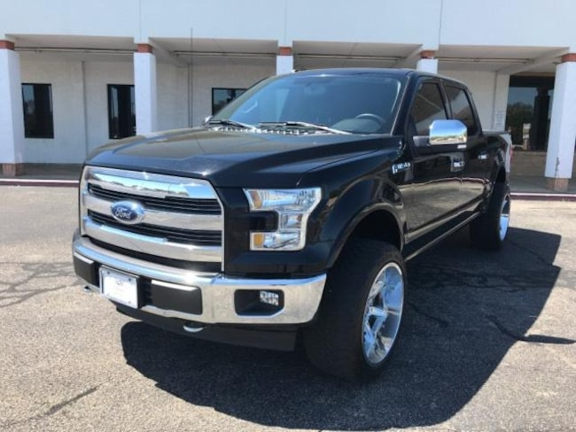 2017 Ford F-150 Lariat 4WD Supercrew 5.5 Box Crew Cab Pickup