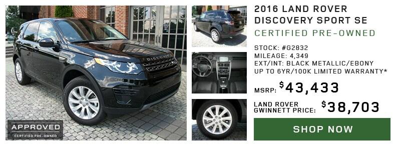 Range Rover Gwinnett >> Land Rover Gwinnett | New Land Rover dealership in Duluth ...