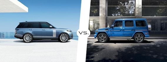 Range Rover Vs Land Rover >> 2018 Land Rover Range Rover Vs 2018 Mercedes G Wagen