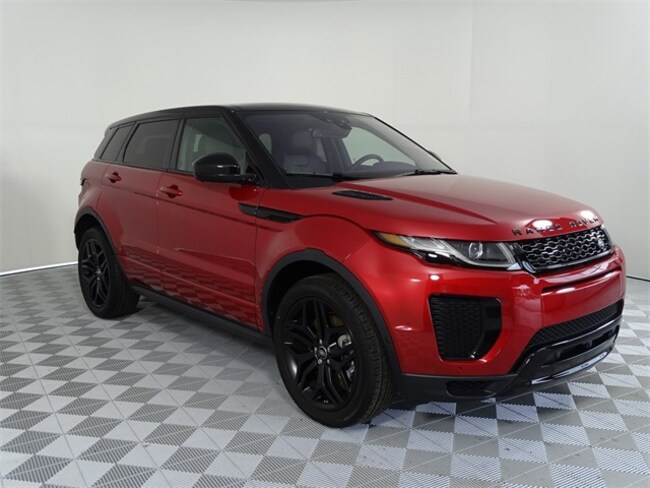 Range Rover Gwinnett >> New 2019 Land Rover Range Rover Evoque For Sale at Land ...