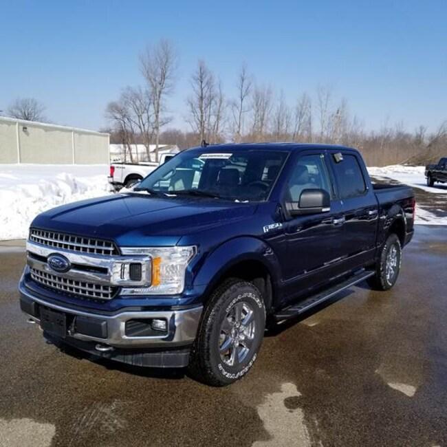 2019 Ford F-150 XLT SuperCrew 4x4 5.5 ft SB Pickup Truck
