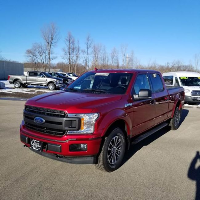 2018 Ford F-150 Supercrew 4x4 5.5ft SB Pickup Truck