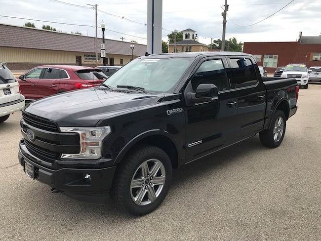 2018 Ford F-150 Lariat 4x4 4dr Supercrew 5.5 ft. SB Pickup Truck