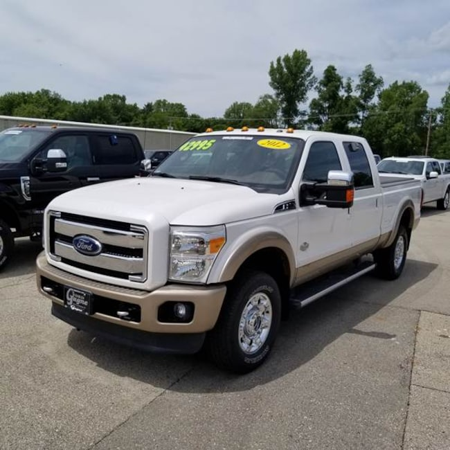 Used 2012 Ford F-350 Super Duty For Sale At Gagne Ford Inc