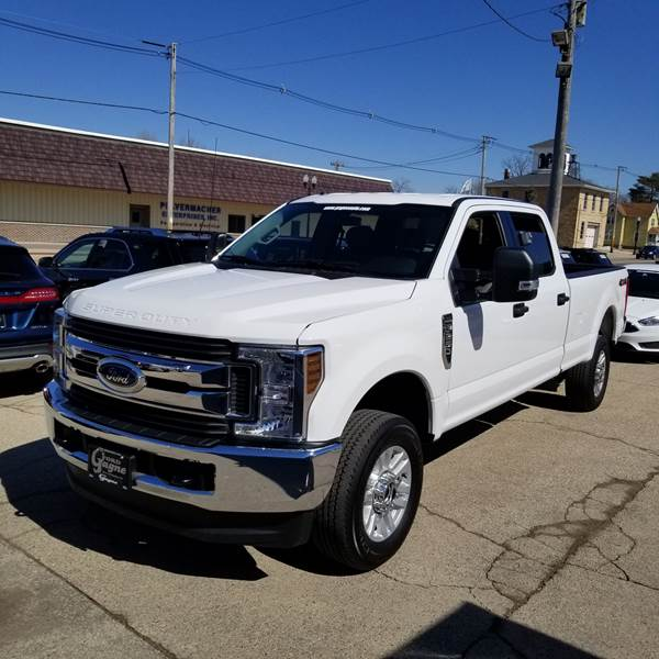 used 2018 ford f 250 super duty for sale at gagne ford inc vin2018 ford f 250 super duty xlt 4x4 4dr crew cab 8 ft lb