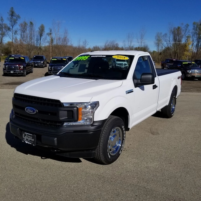 2018 Ford F-150 REG CAB 8 FT BOX Pickup Truck