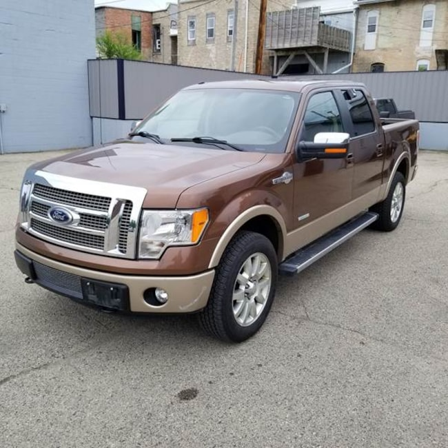 2012 Ford F-150 King Ranch 4x4 4dr Supercrew Styleside 5.5 ft. SB Pickup Truck