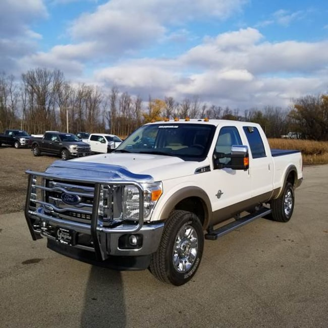 2014 Ford F-350 Super Duty Lariat Crew Cab 4x4 6.8ft Bed Pickup Truck