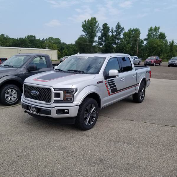 2018 Ford F-150 Lariat SuperCrew 4x4 5.5 ft SB Pickup Truck
