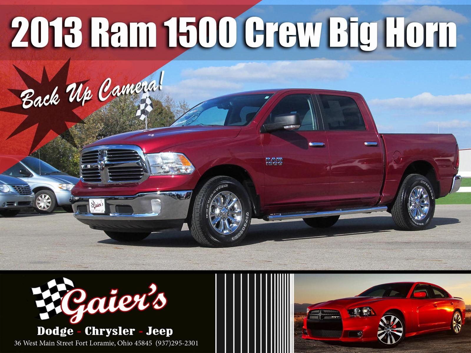 2013 Ram 1500 SLT Truck Crew Cab