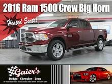 2016 Ram 1500 Big Horn 4WD Crew Cab 140.5 Big Horn