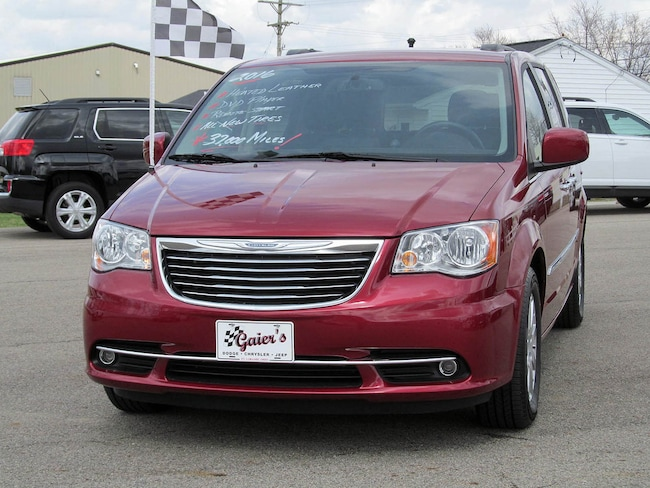 Used 2016 Chrysler Town Country Touring For Sale Fort Loramie Oh