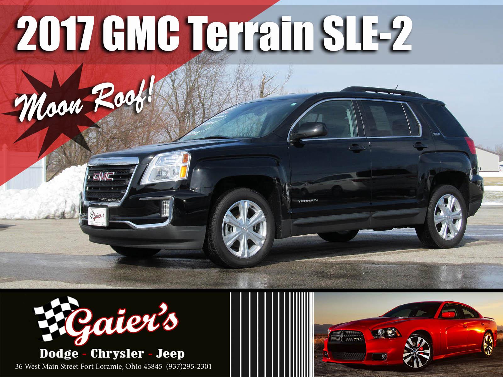 2017 GMC Terrain SLE FWD  SLE w/SLE-2