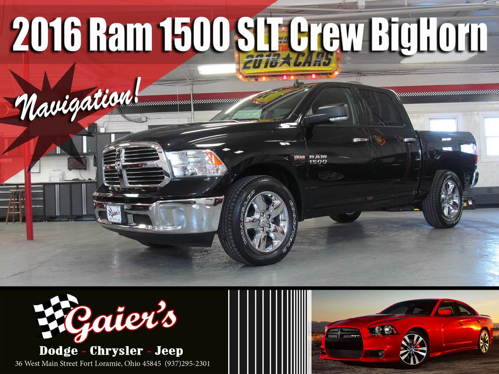 2016 Ram 1500 SLT Truck Crew Cab