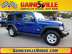 New 2019 Jeep Wrangler UNLIMITED SPORT S 4X4 Sport Utility 19S244 in Gainesville, FL
