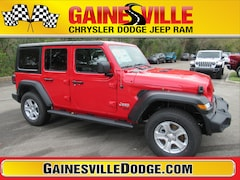 New 2020 Jeep Wrangler UNLIMITED SPORT S 4X4 Sport Utility 20S191 in Gainesville, FL