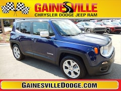 New 2018 Jeep Renegade LIMITED 4X2 Sport Utility 18V739 in Gainesville, FL