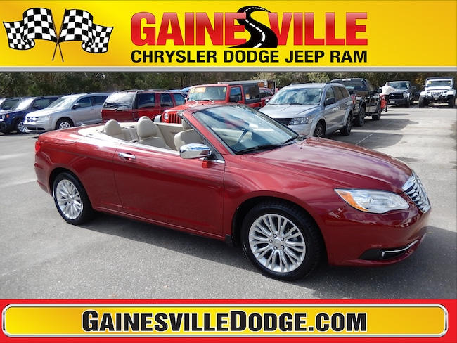 Used 2013 Chrysler 200 Limited Convertible in Gainesville, FL