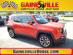 New 2018 Jeep Renegade LATITUDE 4X2 Sport Utility 18V374 in Gainesville, FL