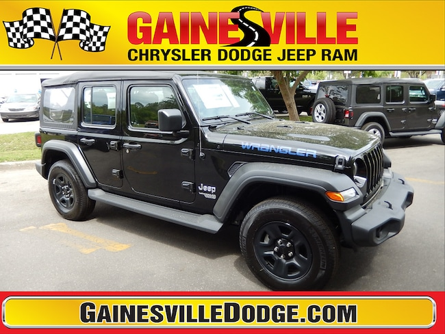 New 2019 Jeep Wrangler UNLIMITED SPORT 4X4 Sport Utility 19S311 in Gainesville, FL