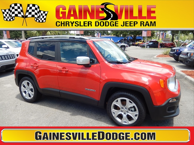 New 2018 Jeep Renegade LIMITED 4X2 Sport Utility 18V547 in Gainesville, FL