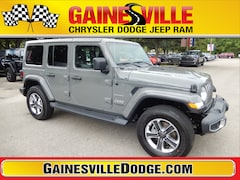 New 2018 Jeep Wrangler UNLIMITED SAHARA 4X4 Sport Utility 18S718 in Gainesville, FL