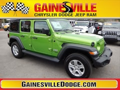 New 2019 Jeep Wrangler UNLIMITED SPORT S 4X4 Sport Utility 19S277 in Gainesville, FL