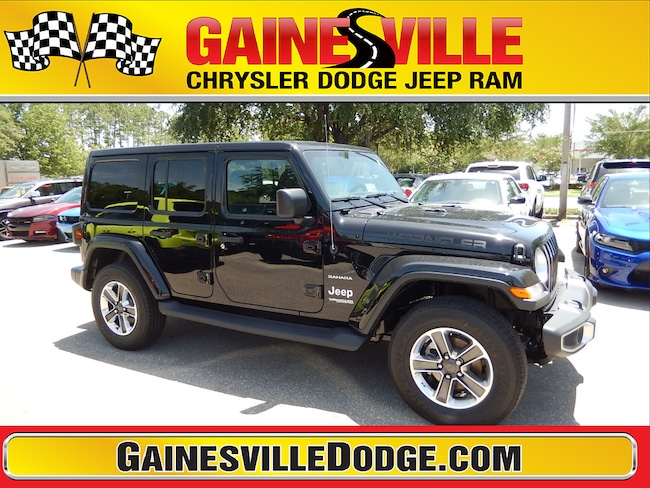 New 2018 Jeep Wrangler UNLIMITED SAHARA 4X4 Sport Utility 18S539 in Gainesville, FL
