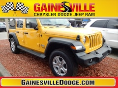 New 2019 Jeep Wrangler UNLIMITED SPORT S 4X4 Sport Utility 19S281 in Gainesville, FL