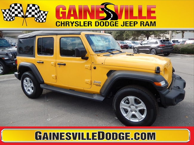 New 2019 Jeep Wrangler UNLIMITED SPORT S 4X4 Sport Utility 19S280 in Gainesville, FL