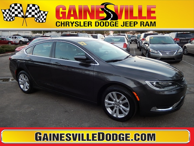 Used 2017 Chrysler 200 Limited Sedan in Gainesville, FL