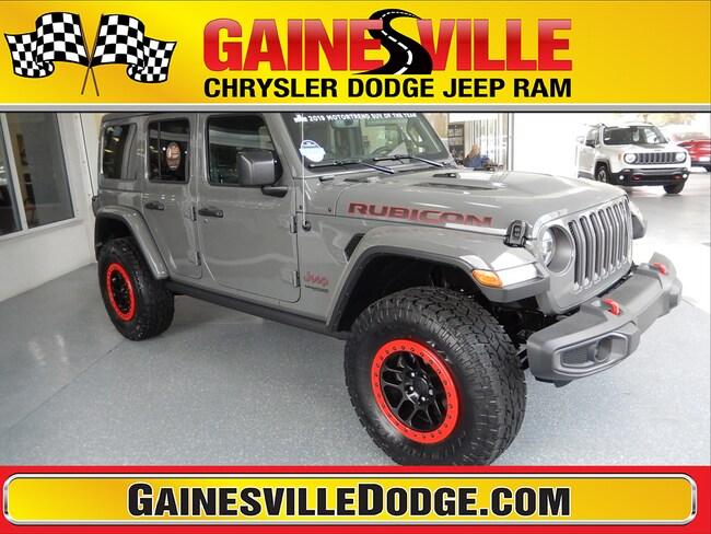 New 2019 Jeep Wrangler UNLIMITED RUBICON 4X4 Sport Utility 19S308 in Gainesville, FL