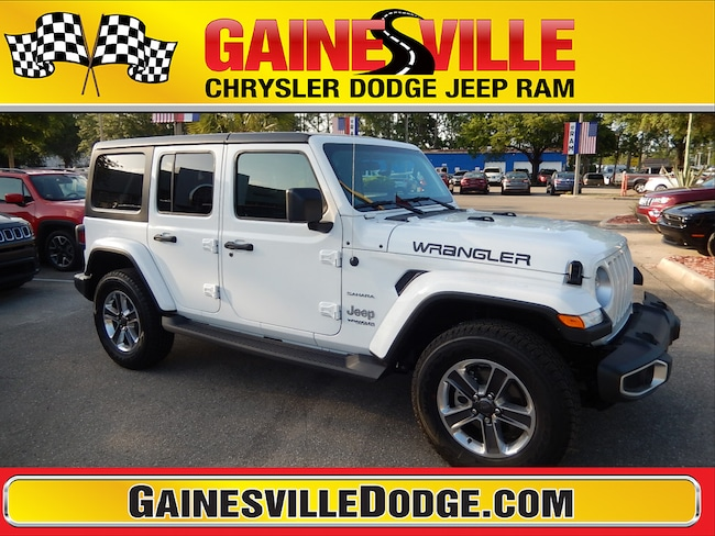 New 2018 Jeep Wrangler UNLIMITED SAHARA 4X4 Sport Utility 18S368 in Gainesville, FL