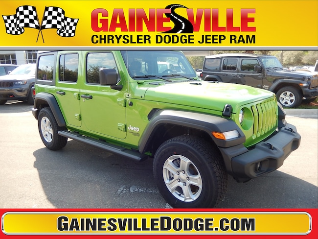 New 2019 Jeep Wrangler UNLIMITED SPORT S 4X4 Sport Utility 19S310 in Gainesville, FL