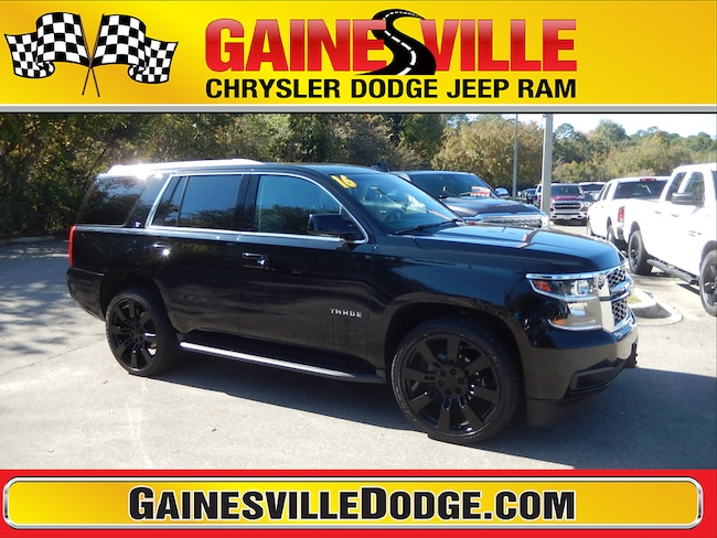 Used 2016 Chevrolet Tahoe LT SUV in Gainesville, FL