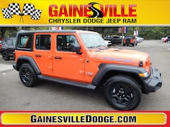 New 2018 Jeep Wrangler UNLIMITED SPORT 4X4 Sport Utility 18S722 in Gainesville, FL