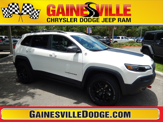 Used 2019 Jeep Cherokee Trailhawk 4x4 SUV in Gainesville, FL