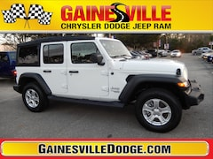 New 2019 Jeep Wrangler UNLIMITED SPORT S 4X4 Sport Utility 19S216 in Gainesville, FL