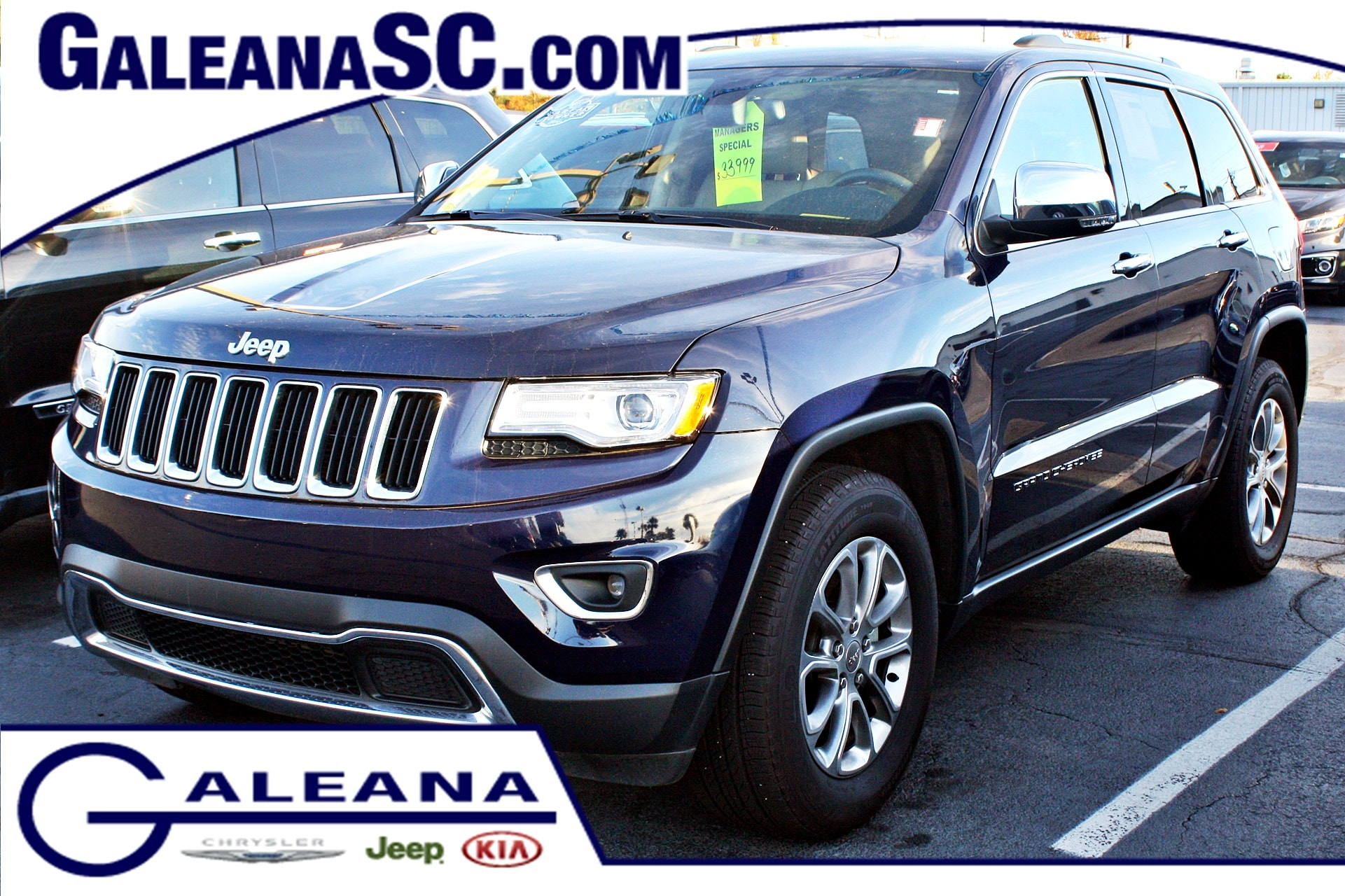 certified used 2015 jeep grand cherokee limited in columbia sc galeana kia vin. Black Bedroom Furniture Sets. Home Design Ideas