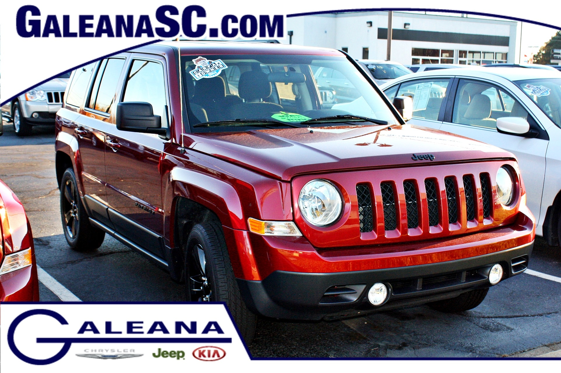 certified used 2015 jeep patriot altitude in columbia sc | galeana