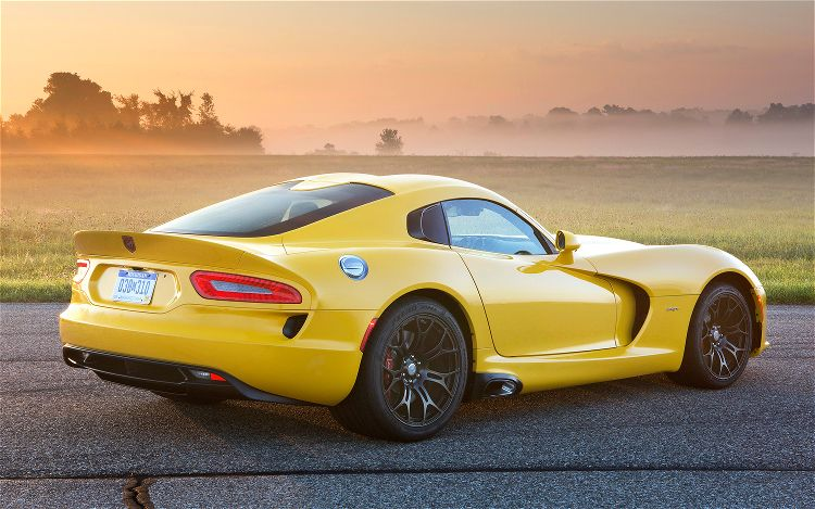 Dodge Viper Yellow All new 2013 srt viper