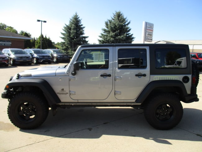 New 2016 Jeep Wrangler Unlimited Sport S 4x4 For Sale