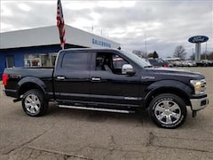 2018 Ford F-150 Lariat 4x4 SuperCrew Cab Styleside 5.5 ft. box 145