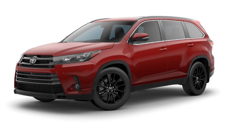 2019 Toyota Highlander SE - Salsa Red