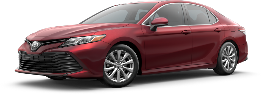2021 Red Toyota Camry